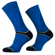 Comodo - Skarpety trekkingowe średniej grubości CLIMACONTROL TRE8, niebieskie
