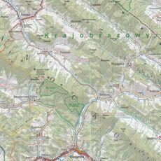 ExpressMap - Przewodnik Bieszczady Beskid Niski 2w1 2019. Góry Sanocko - Turczańskie