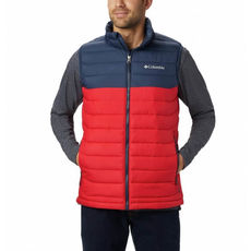 Columbia - Kamizelka męska Men's Powder Lite™ Mountain Red, Collegiate Navy