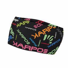 Karpos - Opaska Pelmo black / multicolor