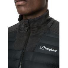 Berghaus - Bluza hybrydowa męska Hottar Hybrid Jacket black