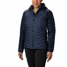 Columbia - Kurtka damska Powder Lite™ Hooded Jacket nocturnal