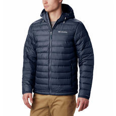 Columbia - Kurtka męska Powder Lite™ Hooded Jacket collegiate navy