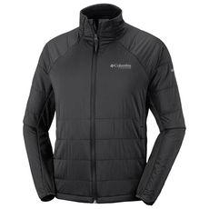 Columbia - Bluza / kurtka hybrydowa męska Alpine Traverse Jacket Polartec Alpha Black