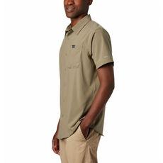 Columbia - Koszula męska Triple Canyon SS Shirt Solid Sage