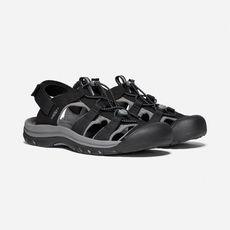 Keen - Sandały męskie RAPIDS H2 black / steel grey