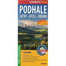 ExpressMap - Podhale, Tatry, Spisz, Orawa 1:50 000