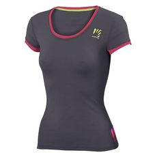 Karpos - T-shirt damski Profili Lite Dark Grey / Raspberry