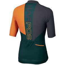 Karpos -  Koszulka MTB męska  Verve Jersey  deep teal / orange fluo/ dark grey