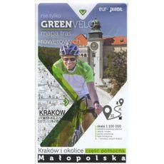 Europilot - Mapa tras rowerowych Green Velo Kraków i okolice część północna