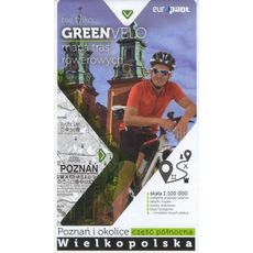 Europilot - Mapa tras rowerowych Green Velo Poznań i okolice część północna
