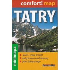 ExpressMap - Tatry. Mapa Turystyczna Mini 1:80 000