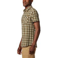 Columbia - Koszula męska Triple Canyon SS Shirt Fossill Mini Tonal Plaid