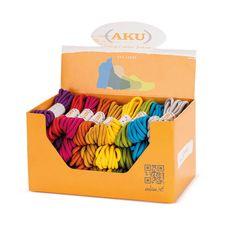 AKU - Kolorowe sznurówki do butów AKU Laces Round - 160 cm