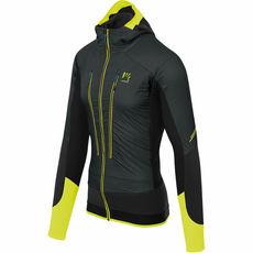 Karpos - Skitourowa kurtka hybrydowa męska Alagna Plus EVO jacket asphalt / yellow fluo