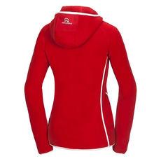 Northfinder - Bluza polarowa damska Polartec Spalena red