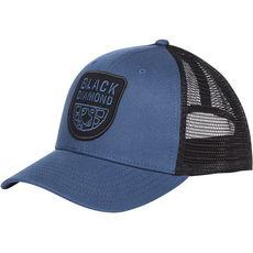 Black Diamond - Czapka z daszkiem Low Profile Trucker Hat ink blue - black