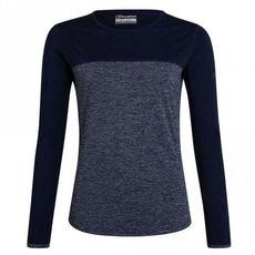 Berghaus - Koszulka damska VOYAGER TECH TEE LS dark blue