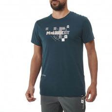 Millet - T-shirt męski PREDICT WOOL TS SS M orion blue