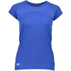 Mons Royale  - koszulka damska merino W Bella Tech Tee  Geo Blue Dot