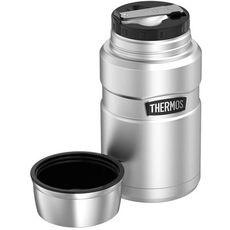 Thermos - Termos obiadowy z łyżką i kubkiem - stal nierdzewna 710ml