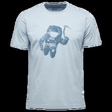 Black Diamond - T-shirt męski M SS SPACESHOT TEE stone blue