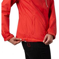 Columbia - Kurtka damska Pouring Adventure II Jacket Bold Orange, Peach Cloud Zip