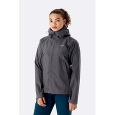 Rab - Kurtka membranowa damska  Downpour Eco Jacket Wmns Graphene
