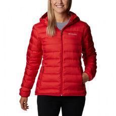 Columbia - Kurtka puchowa damska Lake 22 Down Hooded Jacket red lilly