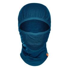 Ortovox - Kominiarka z wełny merino Whiteout Mask petrol blue